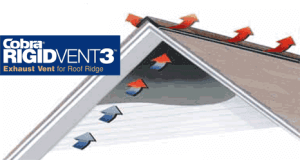 Effective Attic Ventilation Is Critical For A Long Lasting Roof. Thatu0027s Why  We Rely On Cobra® Rigid Vent 3™ Exhaust Vents, A Key Part Of The GAF  Lifetime ...